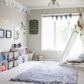 детская комната в скандинавском стиле фото декора