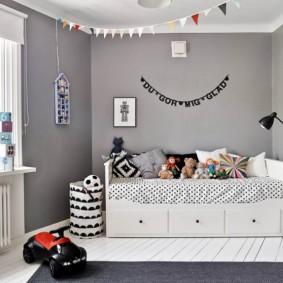 детская комната в скандинавском стиле декор идеи