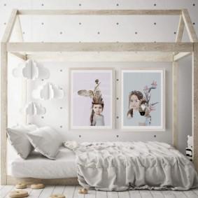 детская комната в скандинавском стиле идеи декор