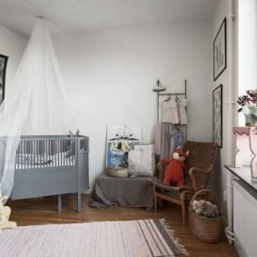детская комната в скандинавском стиле идеи декора