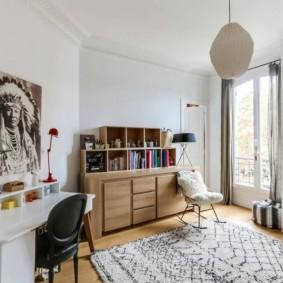 детская комната в скандинавском стиле интерьер