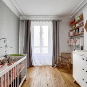 детская комната в скандинавском стиле интерьер фото
