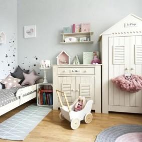 детская комната в скандинавском стиле фото интерьера