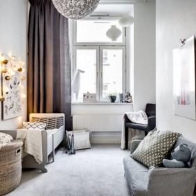 детская комната в скандинавском стиле идеи интерьер