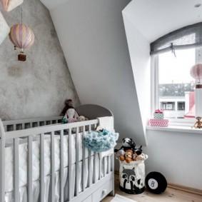 детская комната в скандинавском стиле оформление