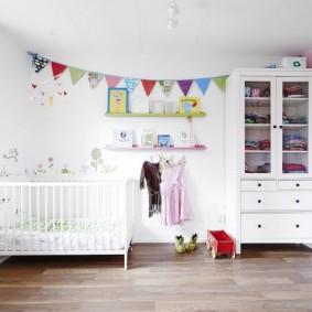 детская комната в скандинавском стиле оформление фото