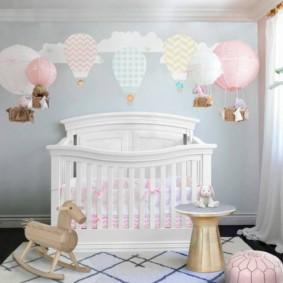 детская комната в скандинавском стиле оформление идеи