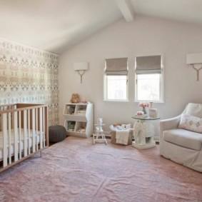 детская комната в скандинавском стиле идеи оформление