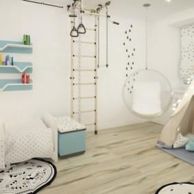 детская комната в скандинавском стиле идеи оформления