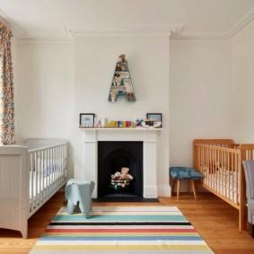 детская комната в скандинавском стиле варианты