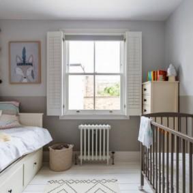 детская комната в скандинавском стиле фото варианты