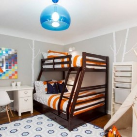 детская комната в скандинавском стиле фото вариантов