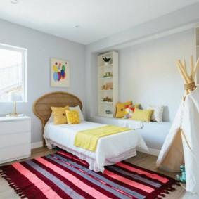 детская комната в скандинавском стиле виды