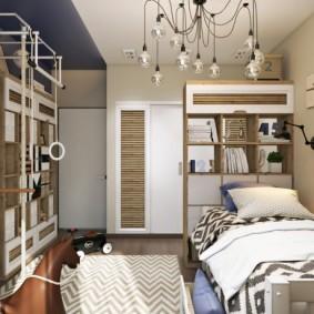 детская комната в скандинавском стиле дизайн