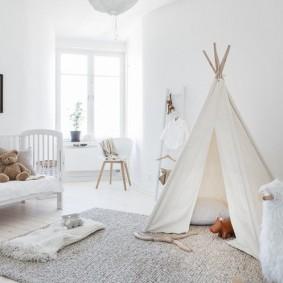 детская комната в скандинавском стиле фото виды