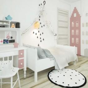 детская комната в скандинавском стиле фото видов