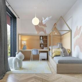 детская комната в скандинавском стиле идеи виды