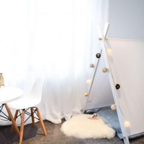 детская комната в скандинавском стиле виды оформления