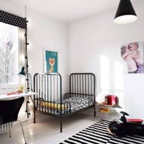 детская комната в скандинавском стиле дизайн фото