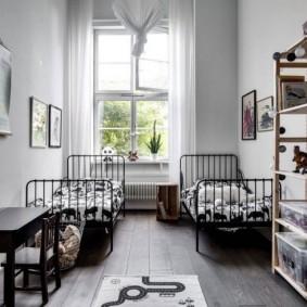детская комната в скандинавском стиле фото дизайн