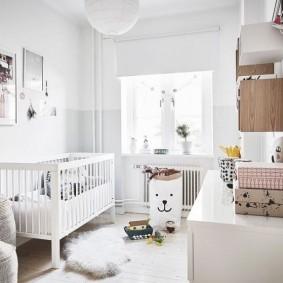 детская комната в скандинавском стиле дизайн идеи