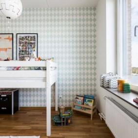 детская комната в скандинавском стиле идеи дизайн