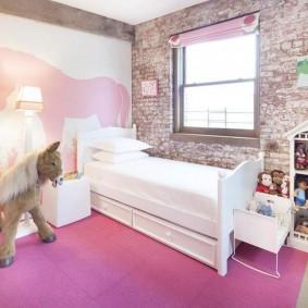 детская комната в стиле лофт идеи декор
