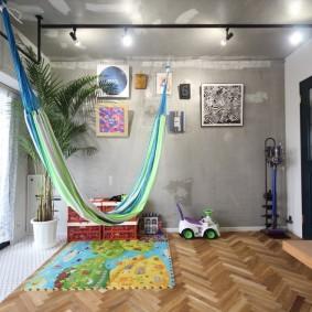детская комната в стиле лофт идеи вариантов