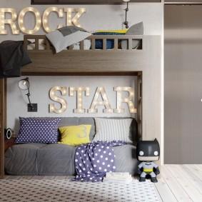 детская комната в стиле лофт виды идеи