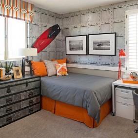 детская комната в стиле лофт фото оформление