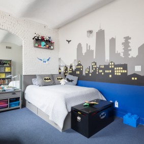 детская комната в стиле лофт обзор