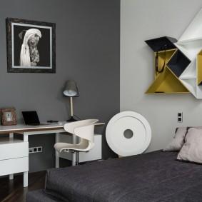 детская комната в стиле лофт виды декора
