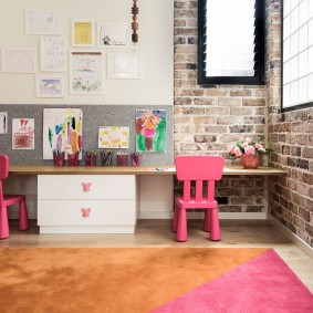 детская комната в стиле лофт фото идеи