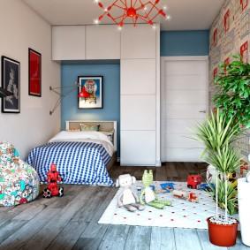 детская комната в стиле лофт фото дизайн