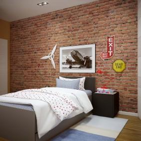 детская комната в стиле лофт идеи дизайн