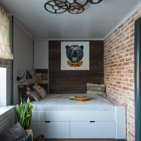 детская комната в стиле лофт декор