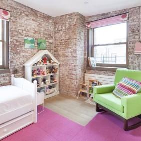 детская комната в стиле лофт фото декора