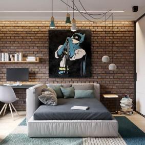 детская комната в стиле лофт идеи декора