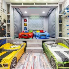детская комната в стиле лофт интерьер идеи
