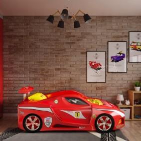 детская комната в стиле лофт фото варианты