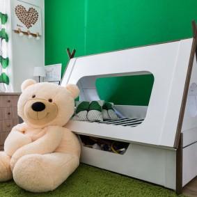 детская кровать домик идеи дизайна