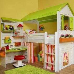детская кровать домик идеи фото