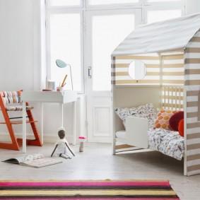 детская кровать домик фото вариантов
