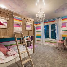 детская кровать домик варианты идеи