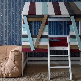 детская кровать домик идеи варианты