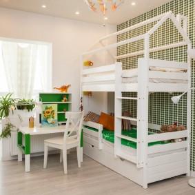 детская кровать домик идеи вариантов