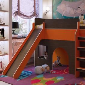 детская кровать домик фото идеи