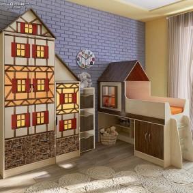 детская кровать домик обзор