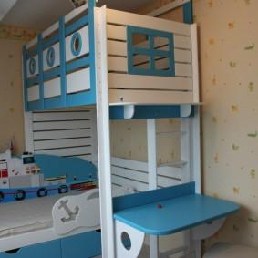 детская кровать домик виды дизайна
