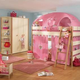 детская кровать домик дизайн